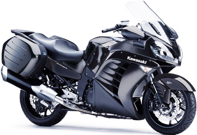 Kawasaki Supersport Touring Concours 14 ABS.