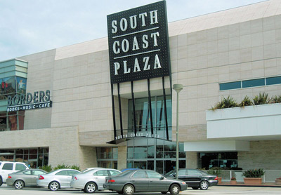 South Coast Plaza.