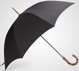 Crombie Whangee Handle Walking Umbrella: £195.