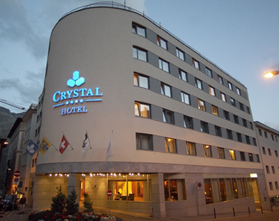 Crystal Hotel, Via Traunter Plazzas 1.
