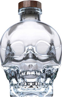 Crystal Head Vodka.