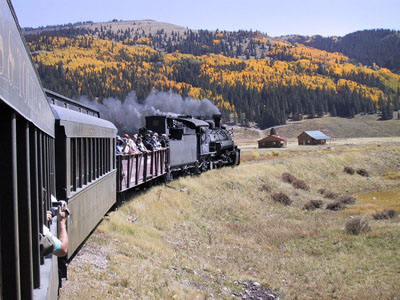 Cumbres and Toltec Scenic Railroad.