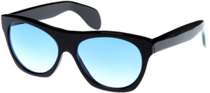 Cutler and Gross 0164 Blue on Black Men's Sunglasses: £310.