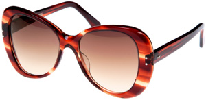 Cutler and Gross 1127 Dark Turtle 06 Women's Sunglasses: £310.