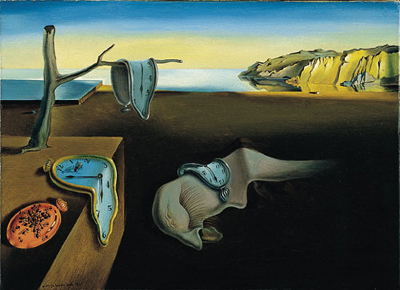The Persistence of Memory (1931) by Salvador Dalí.