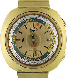 DALIL, Monte Carlo 1, compass watch, automatic.