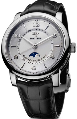David Yurman Men's Classic 43.5 Moonphase watch: US$5,800.