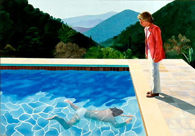 Portrait of an Artist (Pool with two figures) (1972) by David Hockney.