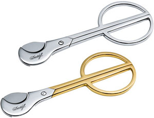 Davidoff cigar cutter scissors.