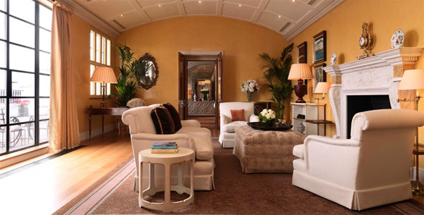 Davies Penthouse Suite at Claridge's, Brook Street, Mayfair, London W1K 4HR, England, U.K.
