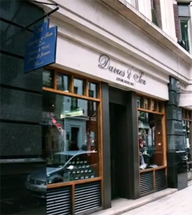 Davies & Son, 38 Savile Row.