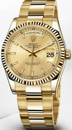 Rolex Oyster Perpetual Day Date.