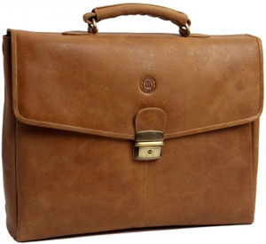 Dbramante1928 Leather briefcase for Laptops & MacBooks.