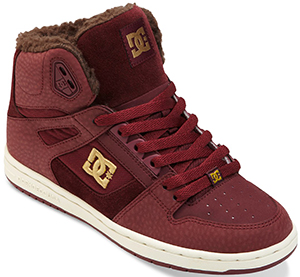 DC Shoes Rebound High Wnt women's sneaker: US$85.