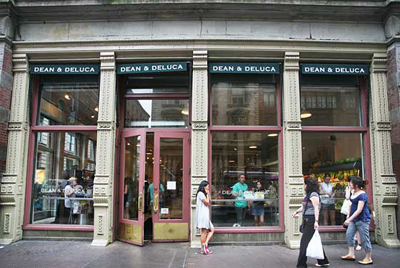Dean & Deluca's Soho flagship store: 560 Broadway, New York, NY 10012.