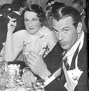 Countess Dorothy di Frasso with her lover Gary Cooper.