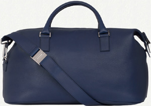 Dior Blue Leather Polochon Bag.