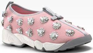 Dior Embroidered Women's Sneaker.