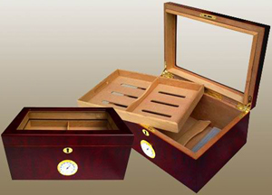 Gathenergy 100CT Display Humidor.