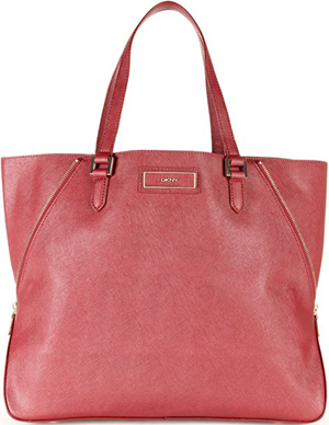 DKNY Saffiano Leather Zip Tote Bag: €249,63.
