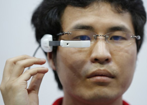 Intelligent Glasses - glasses that can translate text by NTT DoCoMo.