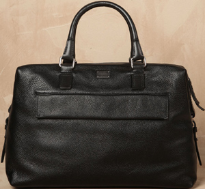 Dolce&Gabbana Small Leather Harry Travel Bag: US$1,395.