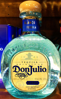 Don Julio Premium tequila.