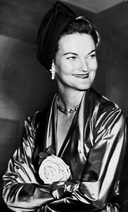 Doris Duke (1912-1993).