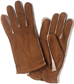 Drake's London Mens Handsewn Carpincho Glove: £235.