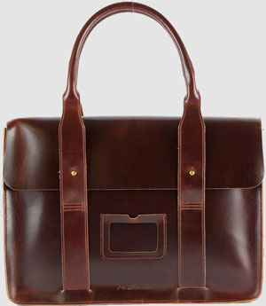 Dr. Martens Leather Briefcase: US$208.