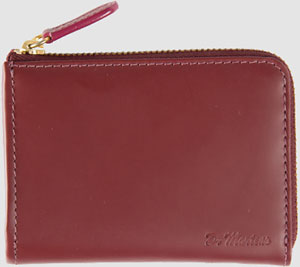 Dr. Martens Leather Zip Wallet: US$56.