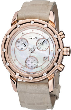 Damiani D.Side Light Setting watch.