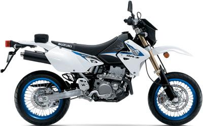 Suzuki DR-Z400SM Dualsport motorcycle.