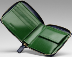 Duchamp London Contrast Billfold Zip Coin Wallet: £175.