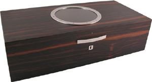 Dunhill White Spot Canary Wharf Macassar 175 Count Humidor: US$2,750.