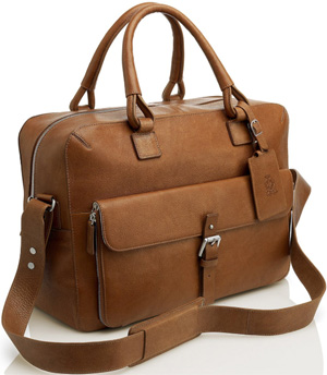 Dunhill Bladon Tan 48 Hour Bag: US$2,050.