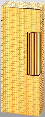 Dunhill Hobnail 18ct Gold Rollagas Lighter.