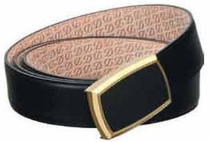 S.T. Dupont Line D Men's Heritage Belt: US$870.