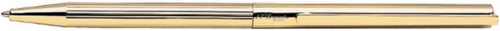S.T. Dupont Ballpoint Pencil Yellow Gold Lines.