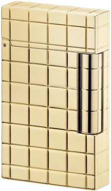 S.T. Dupont Ligne 2 Solid Gold Lighter.