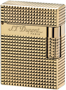 S.T. Dupont L1 Small size - Gold Vintage Lighter.