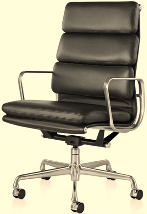 Eames Soft Pad Executive Chair.