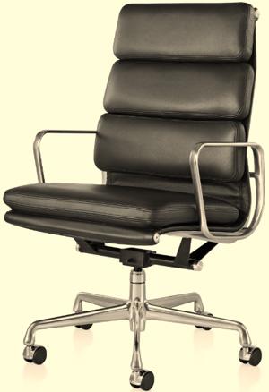 Eames Soft Pad Executive Chair.