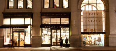 Eataly Flagship Store, 5th Avenue, New York City, NY 10010.