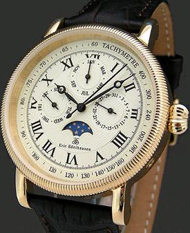 Eric Edelhausen Calypso Gold Dial watch.