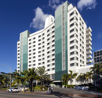 Eden Roc Miami Beach Hotel, 4525 Collins Avenue.