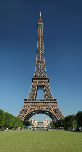 Eifel Tower, Champ de Mars, 5 Avenue Anatole France, 75007 Paris, France.