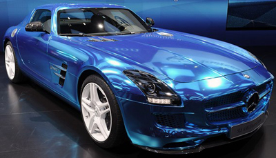 Mercedes-Benz SLS AMG CoupÉ Electric Drive.
