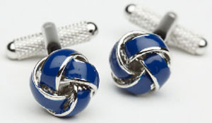 Perry Ellis Knots Cufflinks: US$14.99.