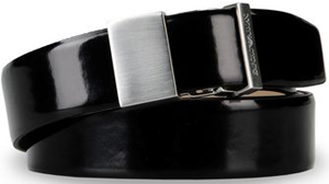 Emporio Armani men's belt in brushed calfskin: US$395.